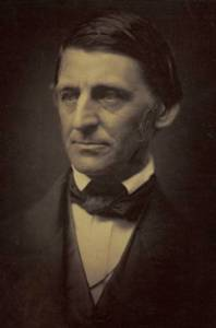 """Ralph Waldo Emerson ca1857"". Licensed under Public Domain via Wikimedia Commons."