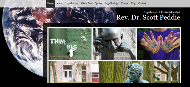 Logotherapy Website Screenshot